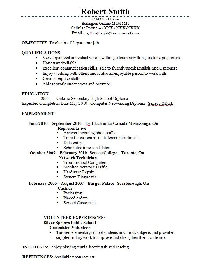 Student Resume Examples Best Template Collection Http Www Jobresume Website Student Resume Examples Best Template Collection 15