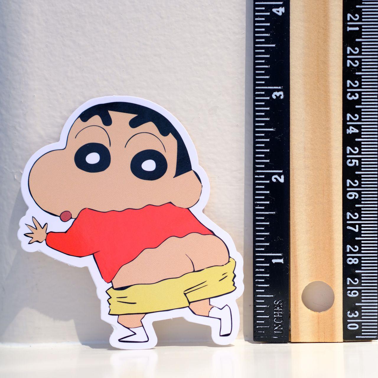 #4001 Crayon Shin Chan Pants Off Manga Japan Cartoon 3