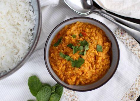 Dhal Lentilles Corail A L Indienne Recette Recette Recettes De Cuisine Et Dhal Lentilles