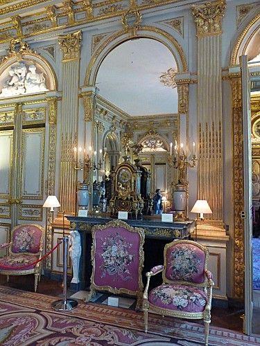 Hotel de la vaupaliere le grand salon savonnerie rug for Savonnerie salon