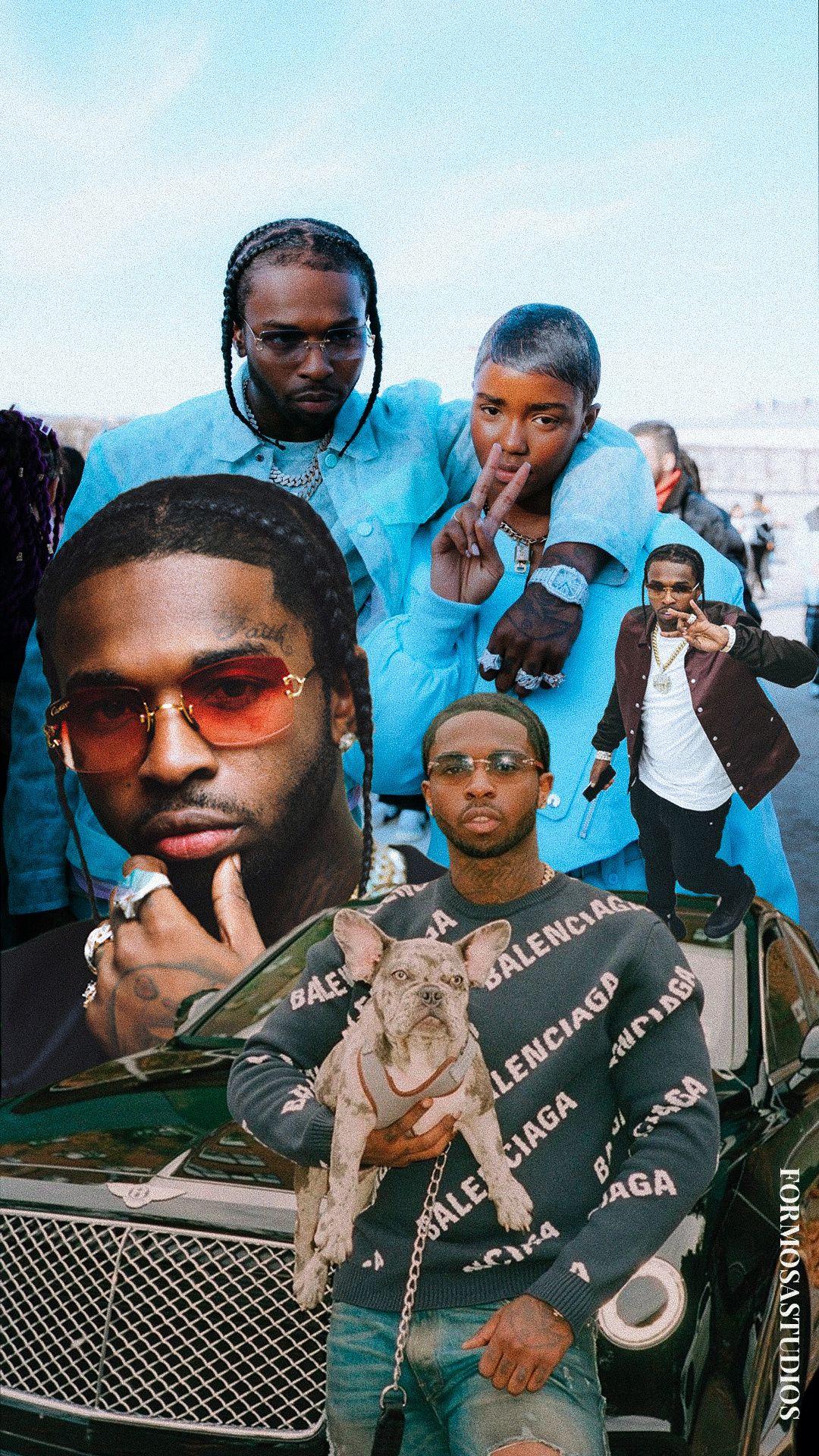 Rip Popsmoke Wallpaper Hip Hop Poster Smoke Wallpaper Cute Rappers