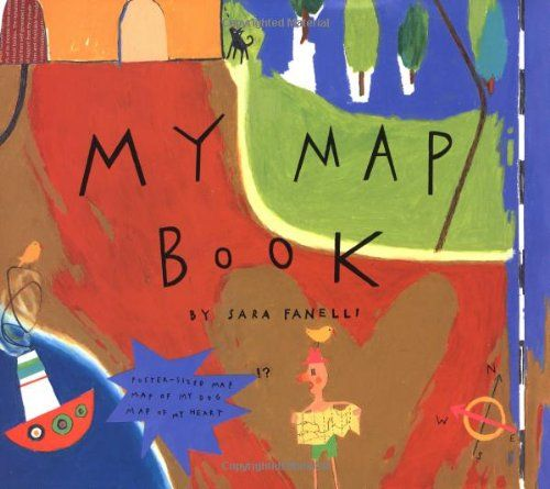 My Map Book I use the map of my heart for a February cooperative