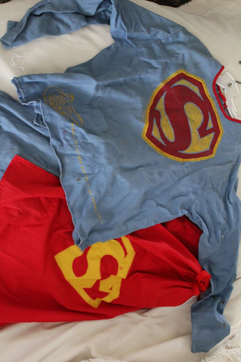 Vintage Superman Kids Halloween Costume (1950's/1960's) by JackandRe on Etsy