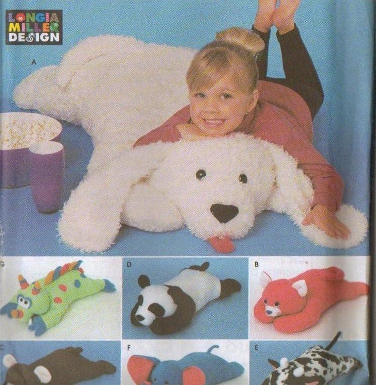 Baby Floor Pillow Animal - The Ground Beneath Her Feet