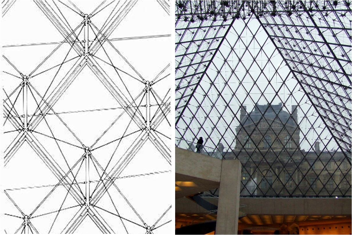 Louvre Pyramid Drawing Google Search Louvre Louvre