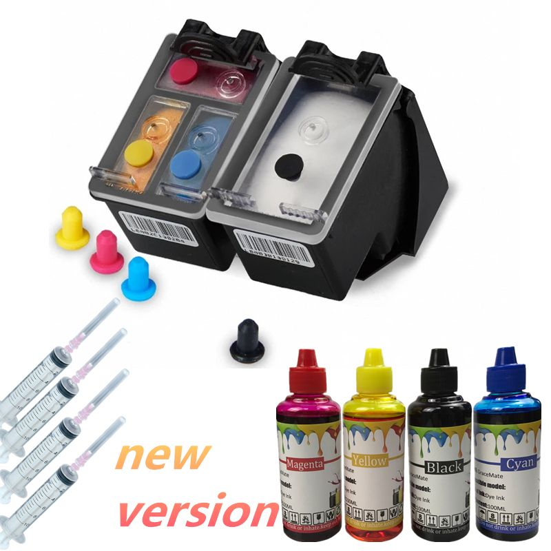Special Price For New Version 65 Refillable Ink Cartridge400ml Refill Ink For Hp Deskjet Envy 2620 2630 5030 5020 5032 3720 3 Ink Cartridge Printer Brother Mfc