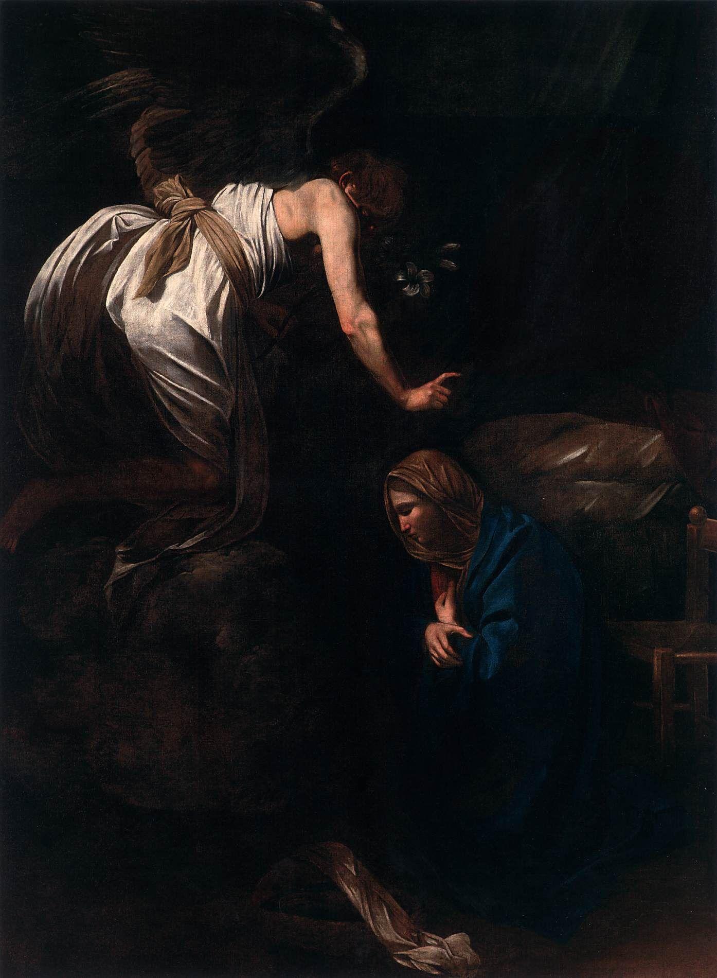 1571 - 1610 Caravaggio, The Annunciation, 1608-09