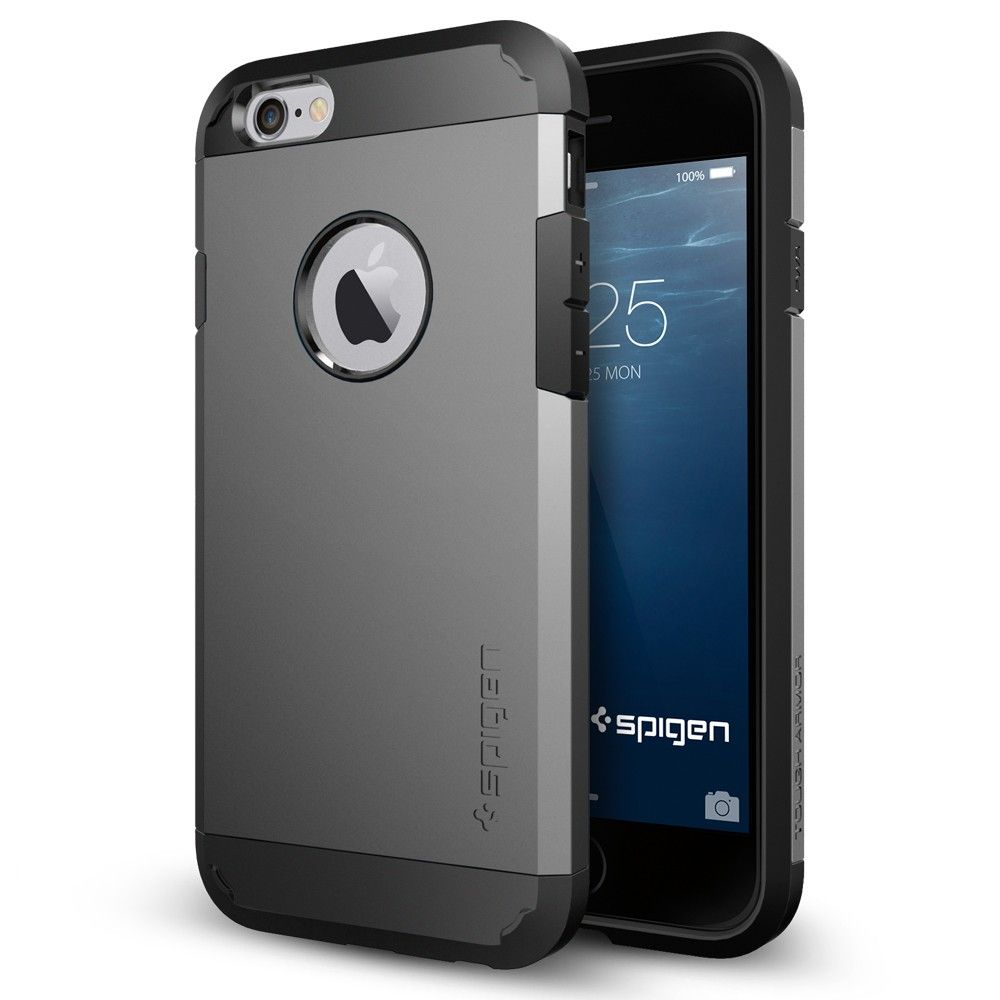 1a70a684c iPhone 6 Case Tough Armor (4.7) from Spigen. As clean, sleek and modern as  your new iPhone.