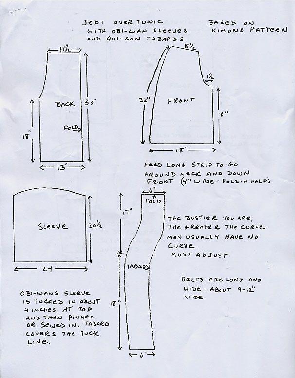 How to Make a Jedi Robe & Tunic   eHow