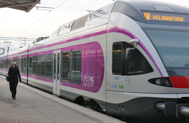 Lähijunat Helsinki