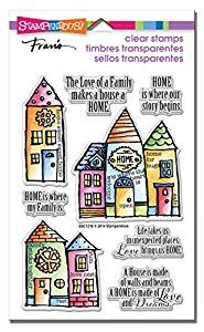 Stampendous Rubber Perfectly Clear Stamps 4-inch x 6-inch Sheet-Family Home: Amazon.co.uk: Kitchen & Home