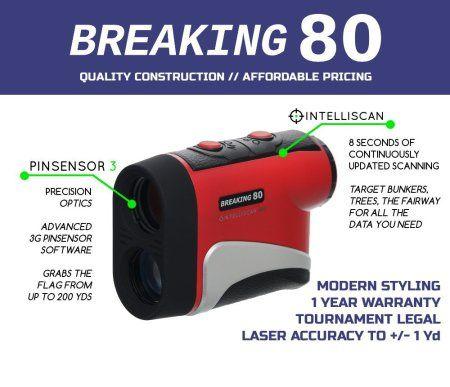 breaking 80 rangefinder reviews sports pinterest golf