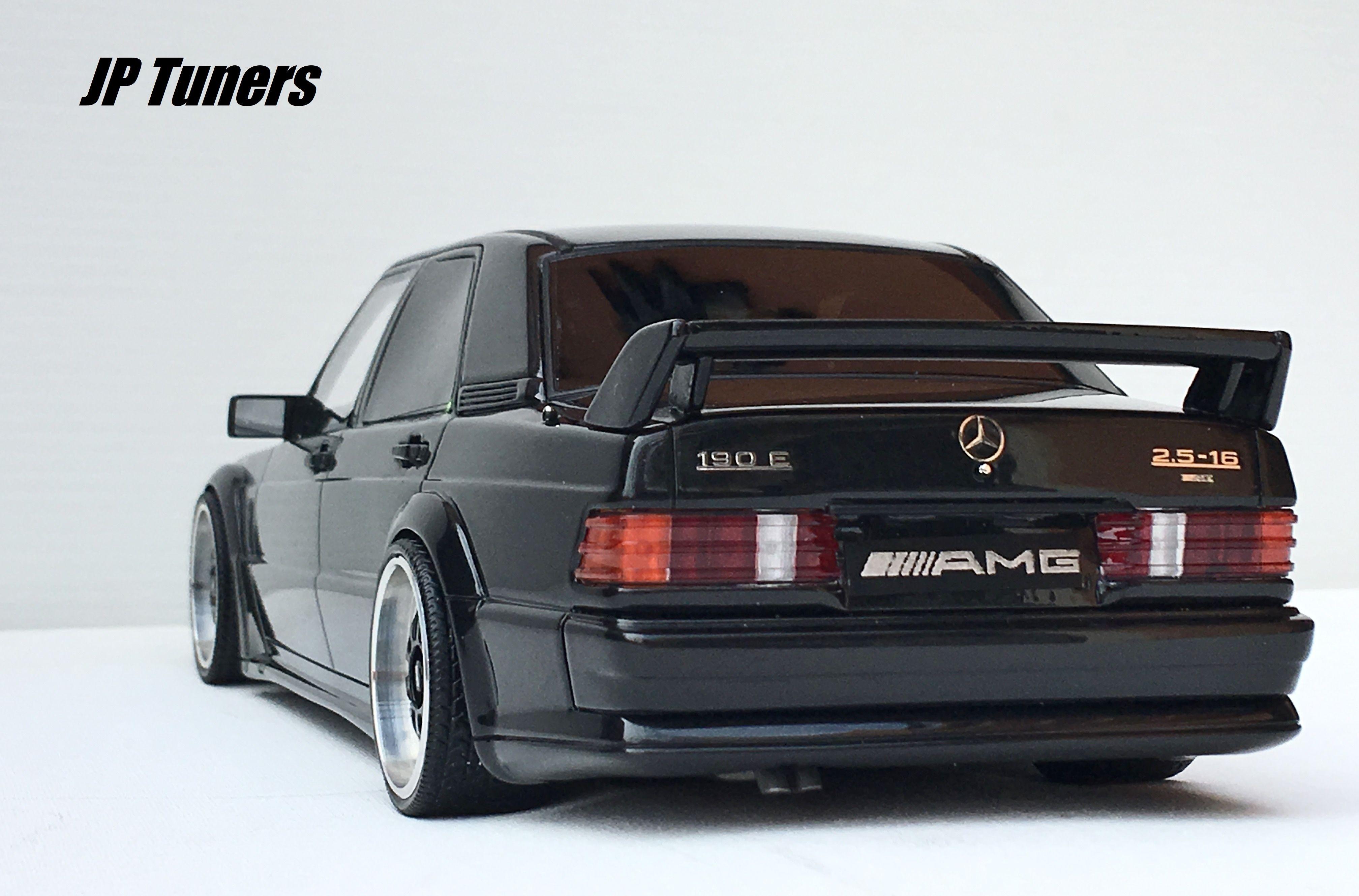 1 18 Mercedes E190 Evo AMG Tuning JP Tuners