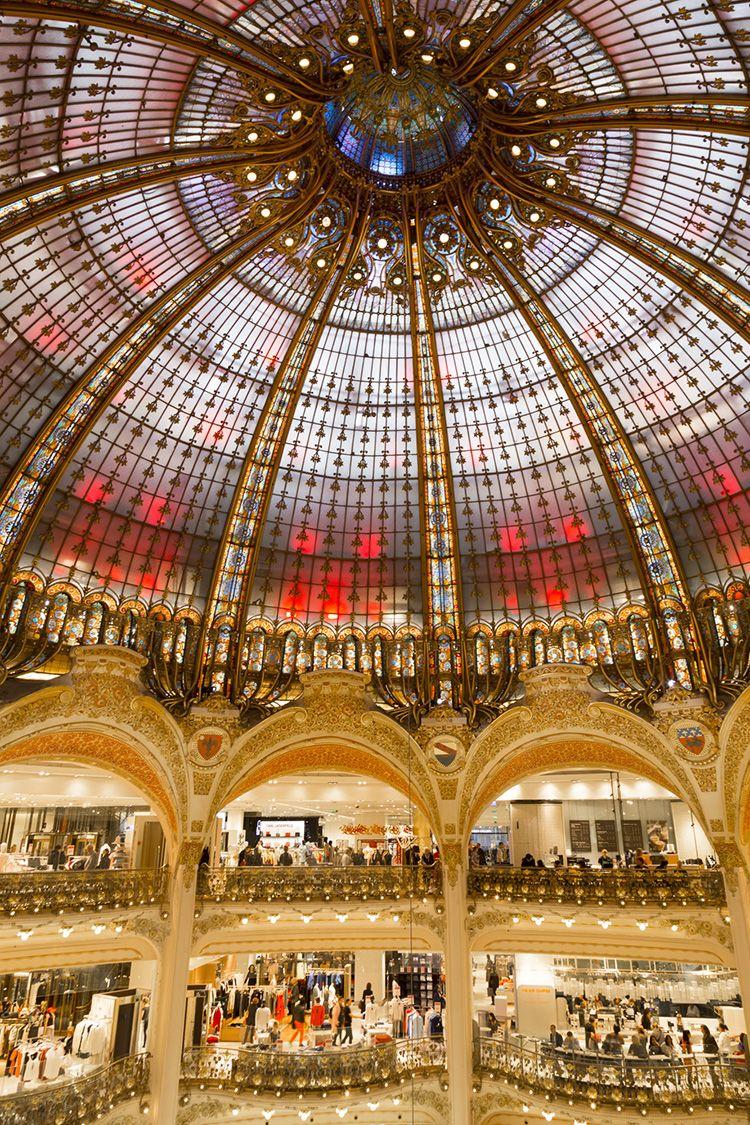 Glass Dome At Galeries Lafayette Haussmann Paris Lafayette Paris Paris Travel Visit Paris