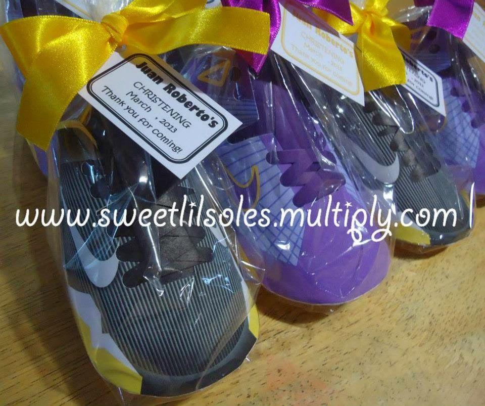 Sweet Li'l Soles Favors Basketball Shoes Sports baby