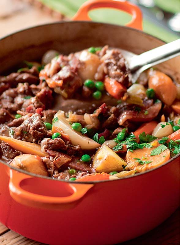 Lamb Stew With Spring Vegetables Recipe