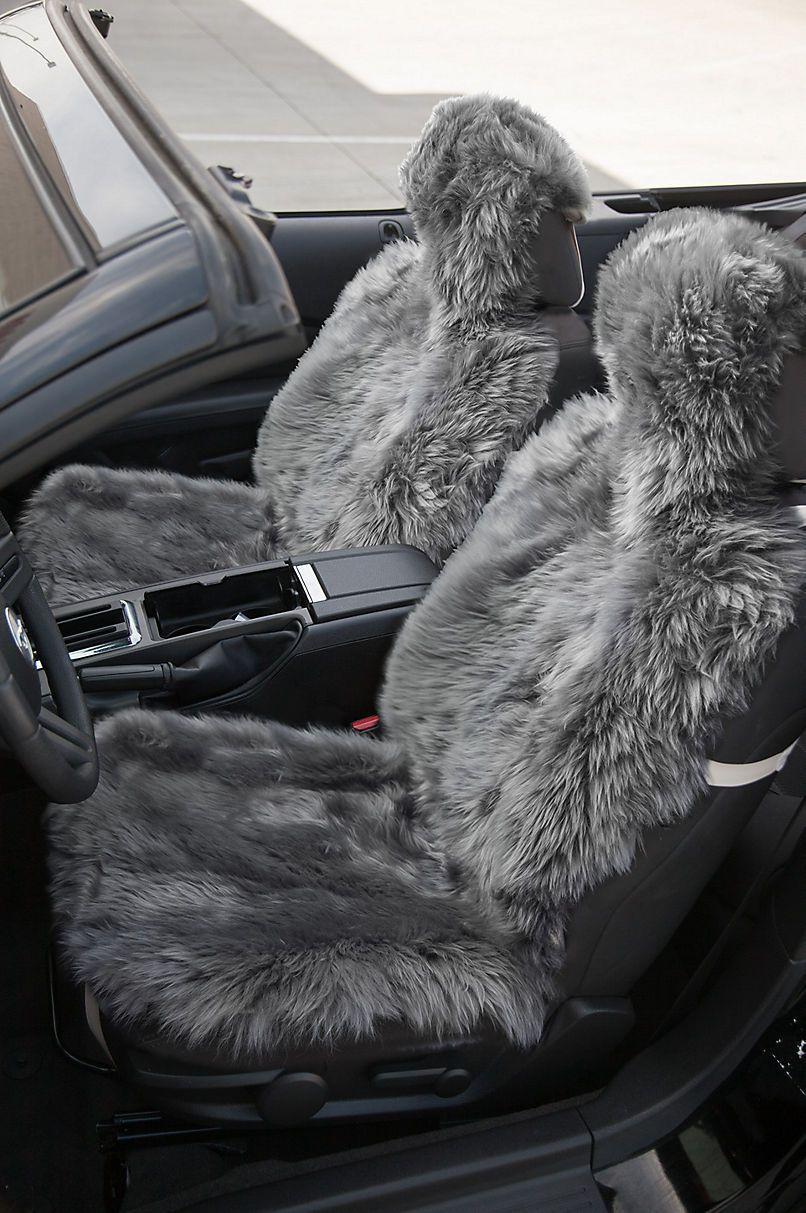 MERCEDES SPRINTER LUXURY MOTORHOME SEAT COVERS FAUX SHEEPSKIN