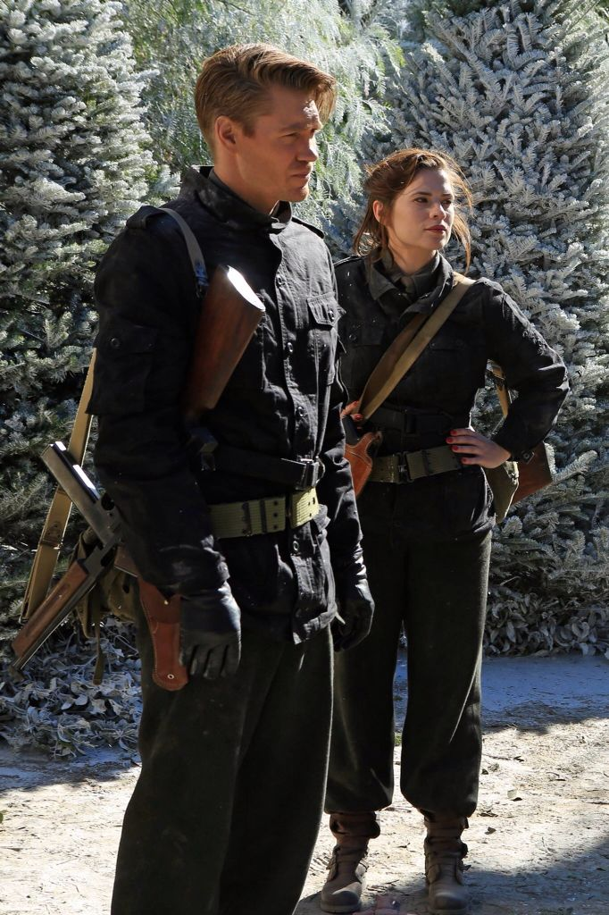 Jack Thompson, Peggy Carter || AC 1x08 The Iron Ceiling || 682px × 1,024px || #promo