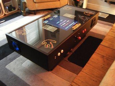 Arcade Coffee Table Arcade Cabinet Arcade Table Retro Arcade