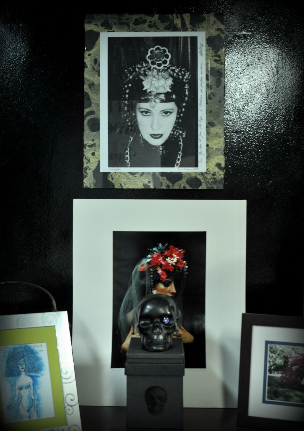Gavilane Paris Show room Natacha van beverloo Corneille Irina Ionesco photos