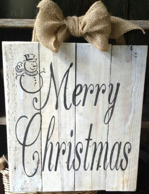 merry christmas snowman pallet sign wooden signs change bow to red and white gingham - Christmas Pallet Signs