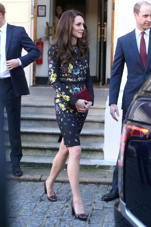 Kate middleton just wore her best maternity dressagain january kate middleton just wore her best maternity dressagain ombrellifo Choice Image