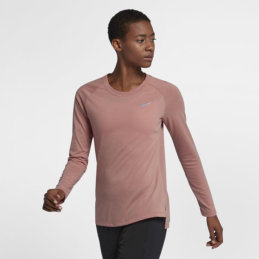 82d1c47e2cab05 Nike Tailwind Women's Long Sleeve Running Top | Add To Cart | Long ...