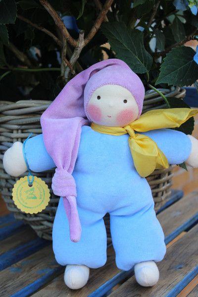 Puppen - Waldorfpuppe Schmusepuppe *LUISA* Erstlingspuppe - ein Designerstück von Lille-lilith bei DaWanda
