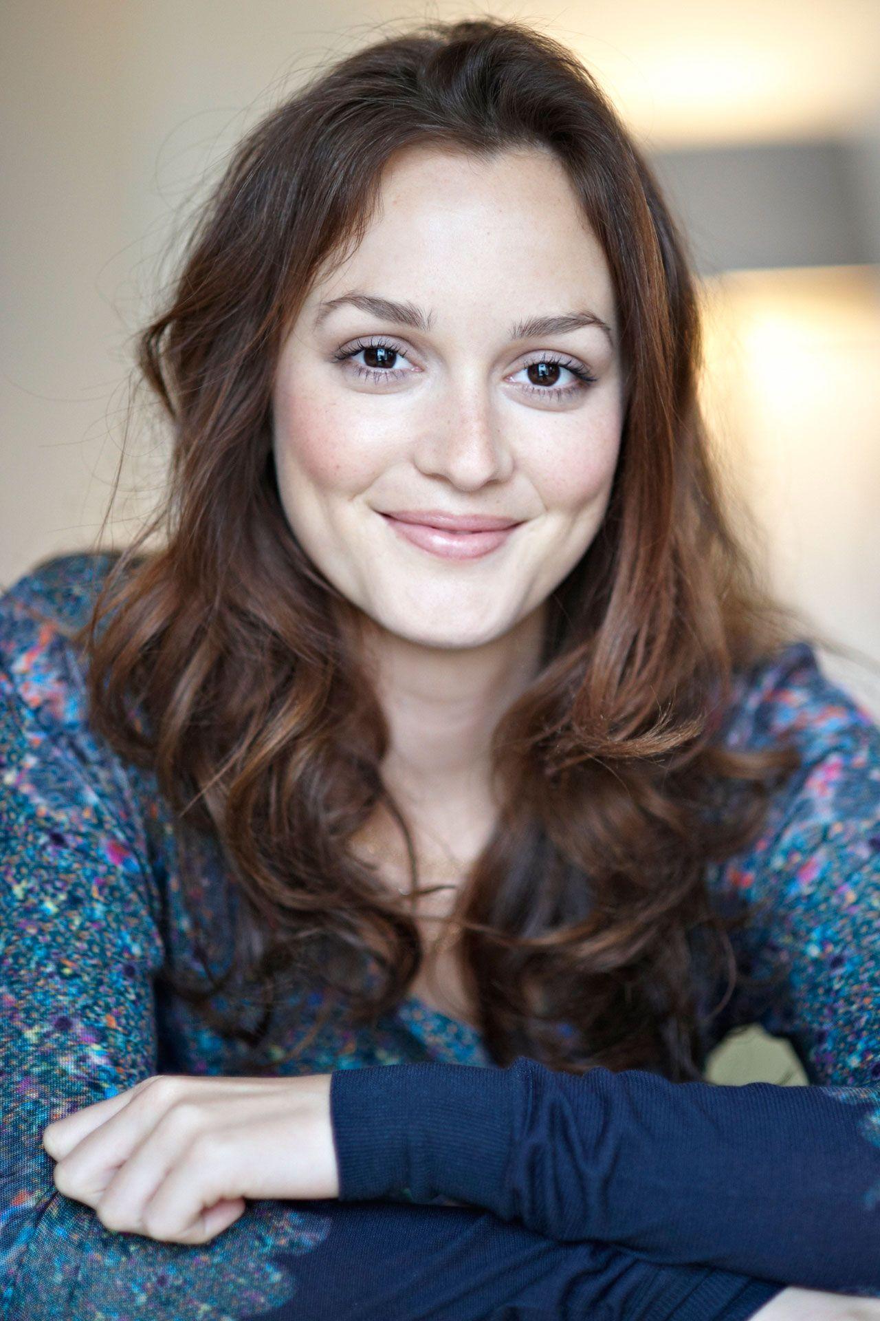 Leighton Meester- Natural Makeup Inspiration