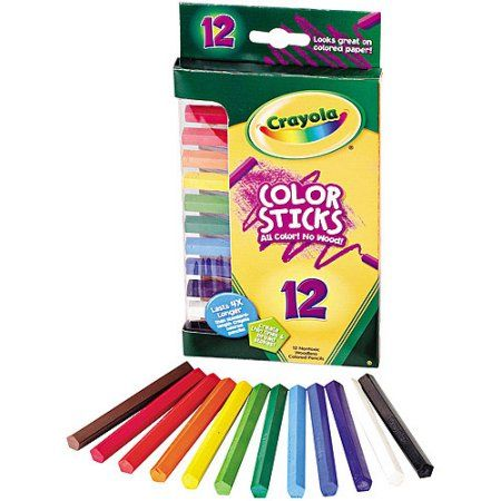 Crayola Woodless Color Pencils Assorted 12 Pack Multicolor