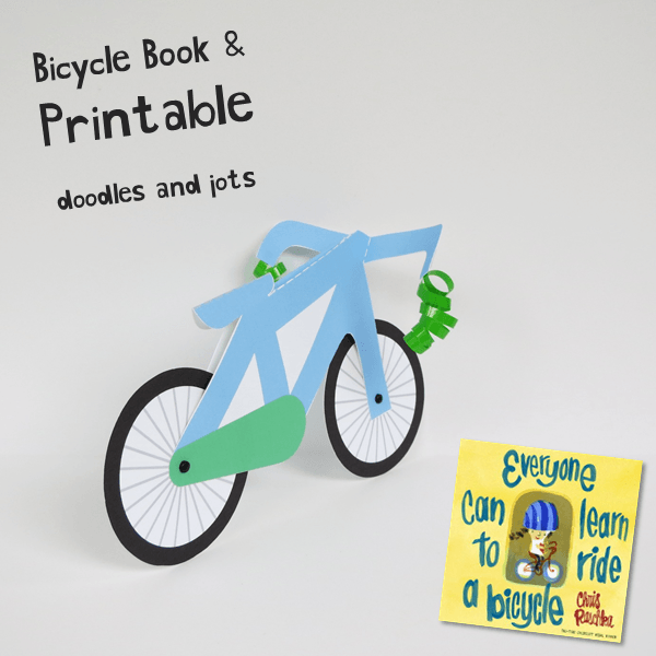 Learning To Ride Book And Craft Picture Book Activities Summer