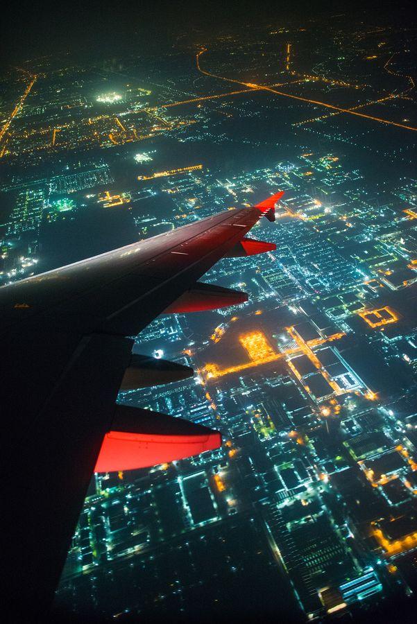 Digital World Bangkok Thailand Photo By Wat Pimolkiat Airplane View Aviation Airplane Window
