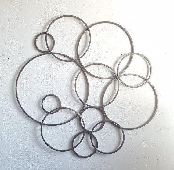 Metal Wall Hanging Wrought Iron Wall Decor Round Metal Wall Art Garden Fence Decor Burnished Sil Round Metal Wall Art Metal Wall Decor Large Metal Wall Art
