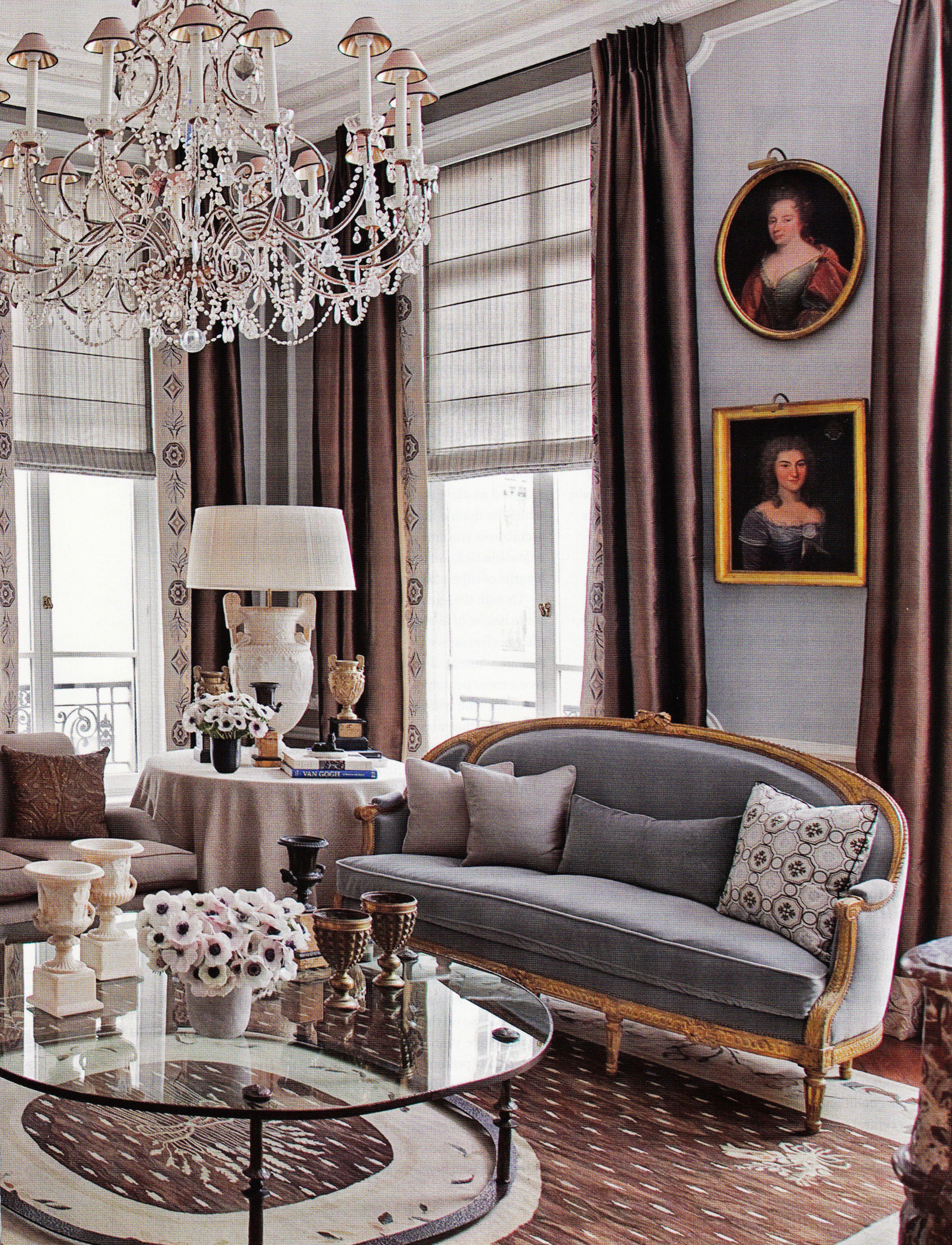 Paris left bank apartment by jean louis deniot living for Decoracion de interiores luis xv