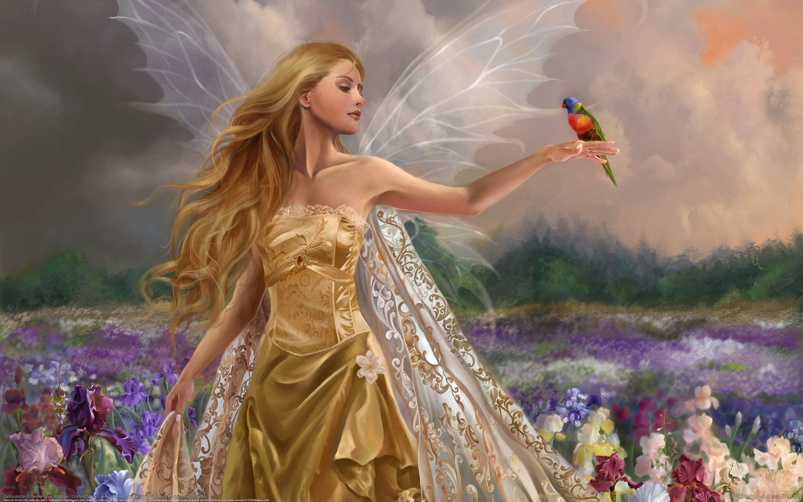 beautiful angels of god | beautiful-fairy-love-angels-27525265-2560