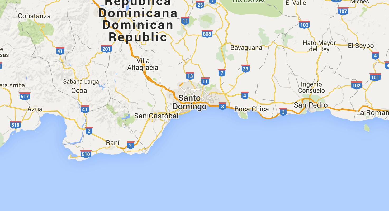 Códigos Postales De Republica Dominicana Santo Domingo Santiago La Romana La Vega Duarte Samaná Map Map Screenshot