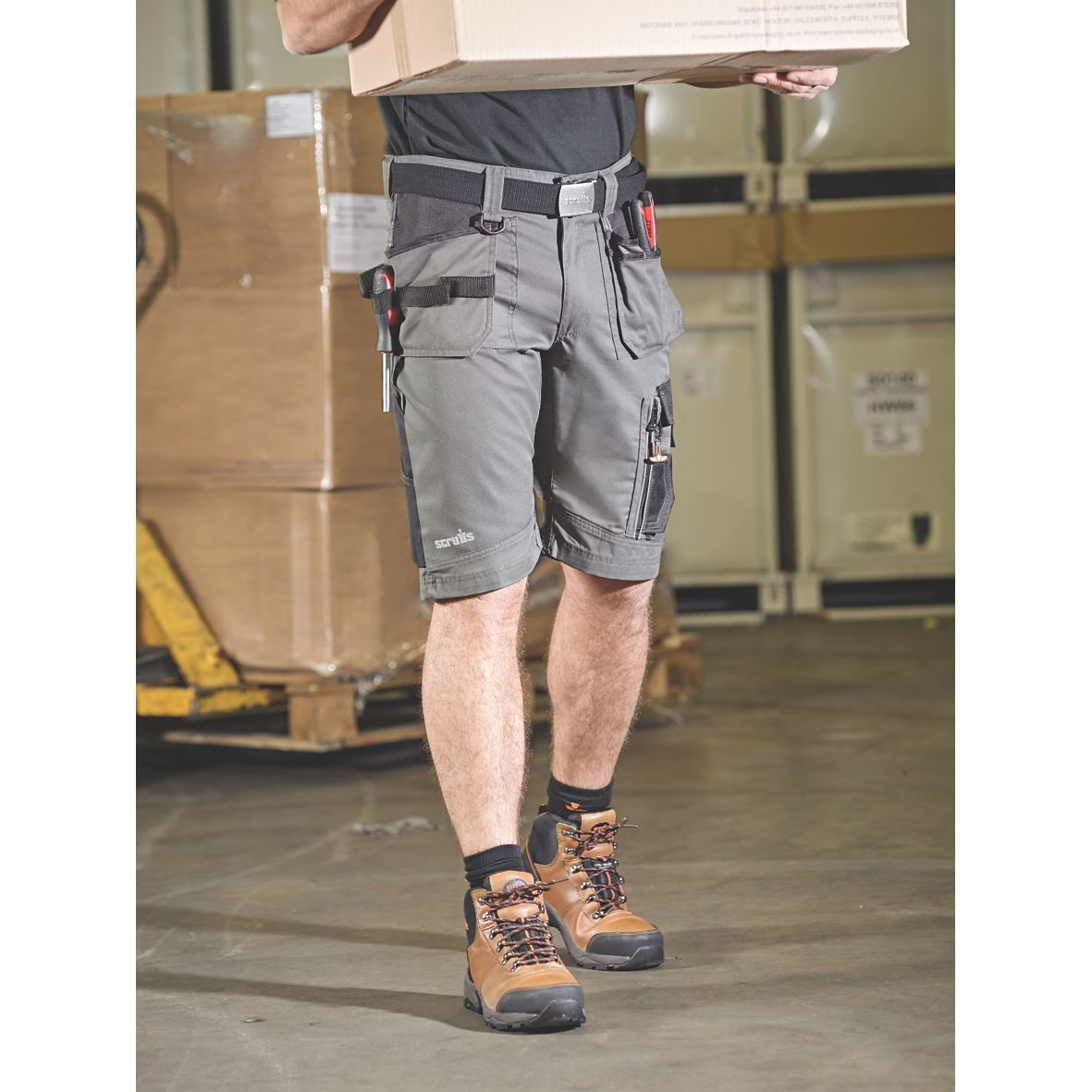 Pin by Screwfix on Beat The Heat Work shorts, Work wear