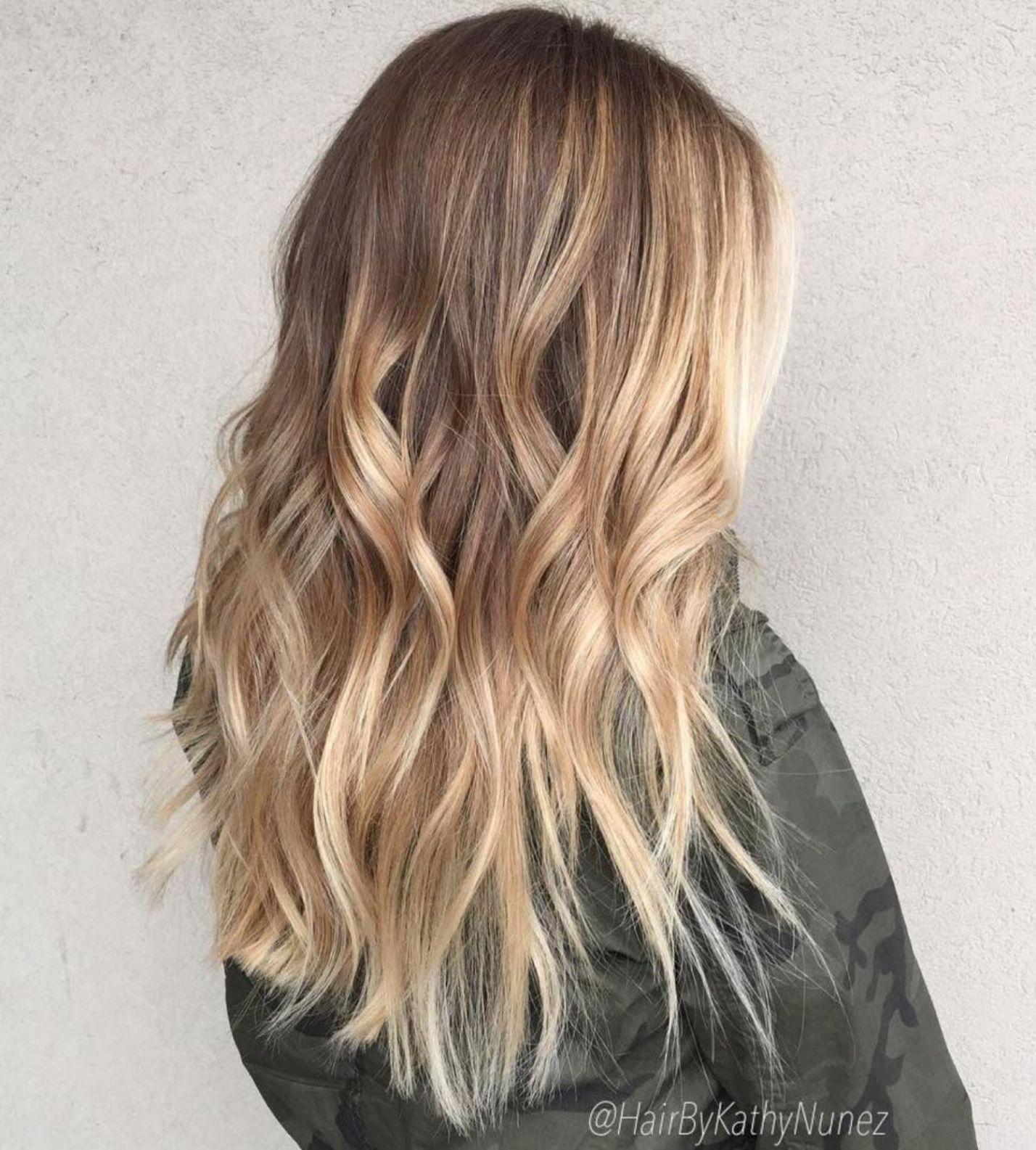 beautiful blonde balayage looks in hair colors pinterest