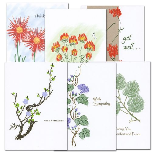 Get Well And Sympathy Card Assortment