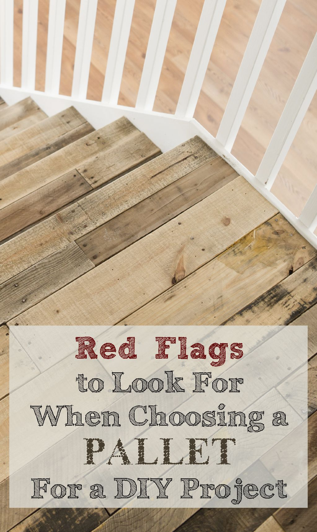 How to choose the best pallet for crafts red flag pallets and flags how to choose the best pallet for crafts diy solutioingenieria Choice Image