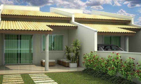 27 modelos de frentes de casas simples e modernas house for Ver frentes de casas modernas