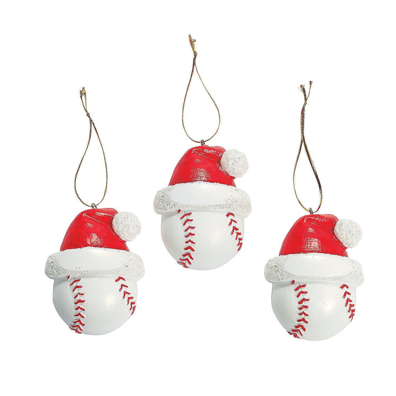 Baseball Christmas Ornaments Baseball Christmas Ornaments Baseball Christmas Fun Christmas Decorations