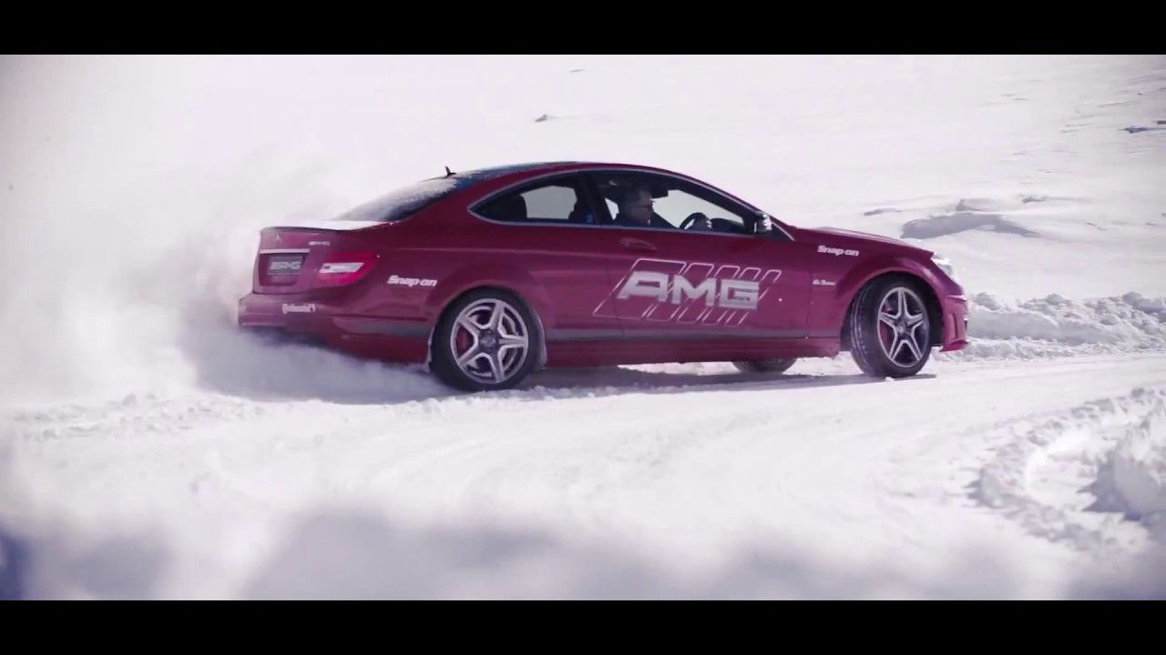 The Mercedes AMG MOST EXTREME Snow Drifting in New Zealand