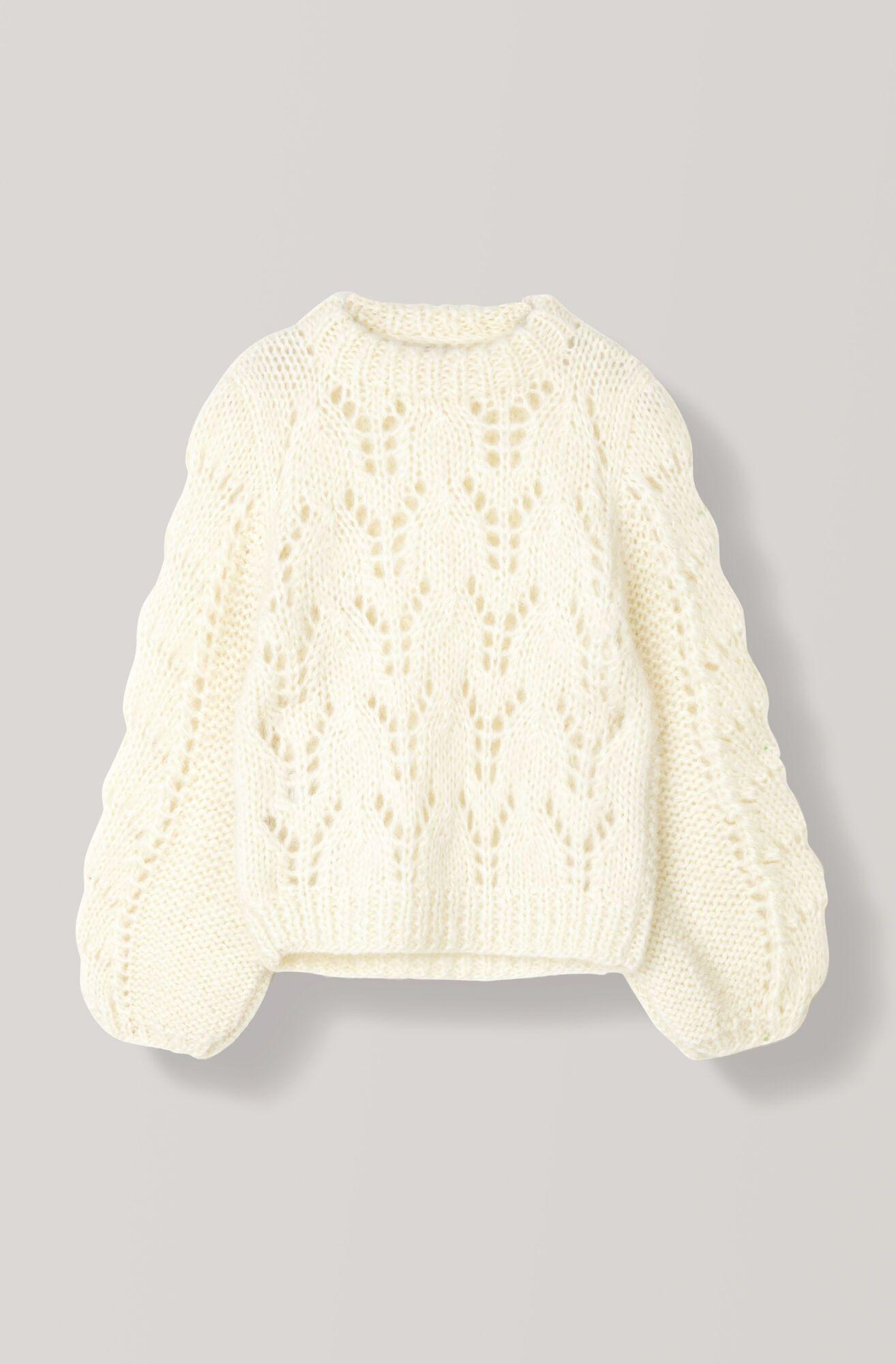 Photo of GANNI Håndstrik Uld Sweater (2999,00 DKK)   Køb din nye Håndstrik Uld Pullover hos GANNI.COM