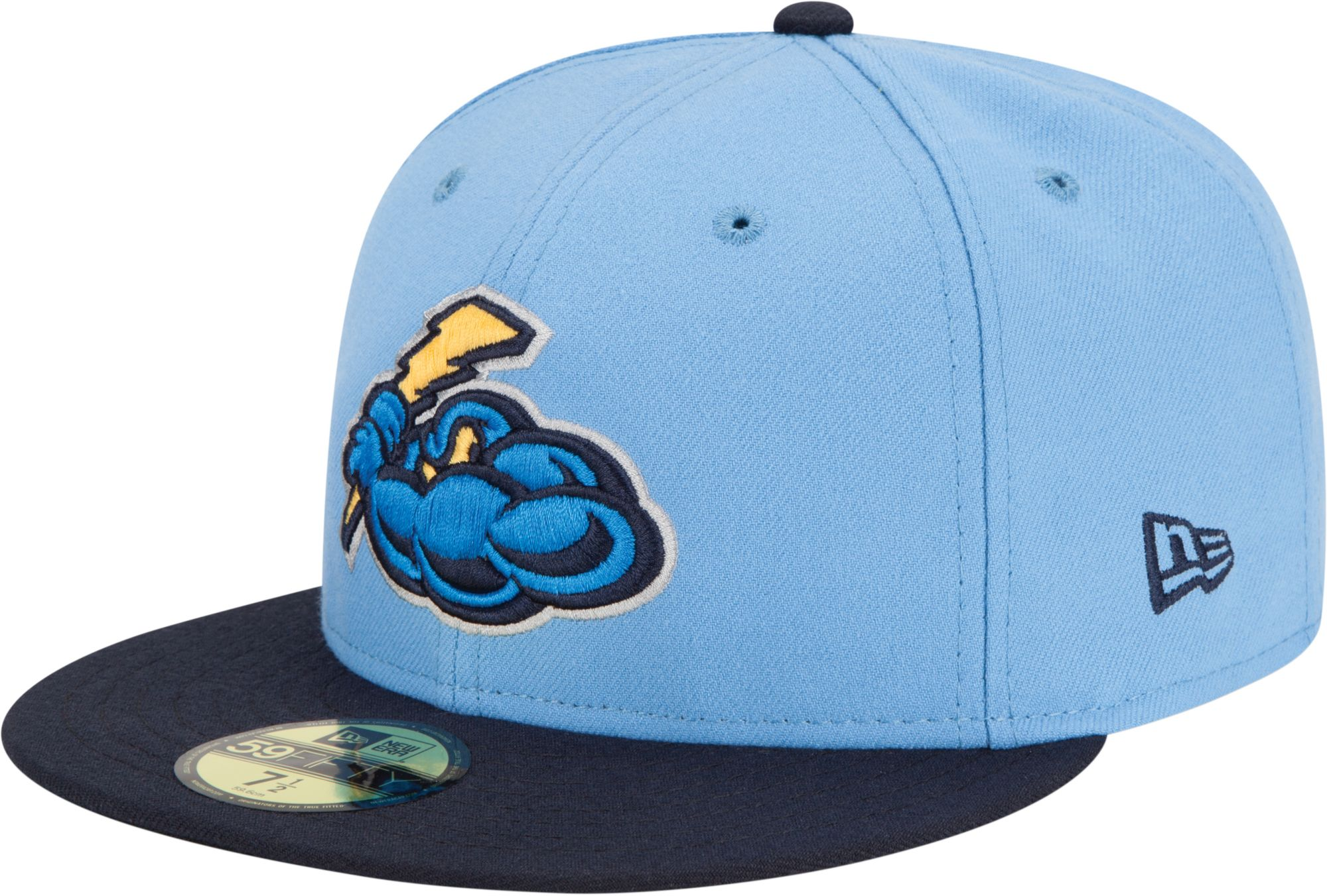8b6dc7fb961 New Era Men s Trenton Thunder 59Fifty Fitted Hat