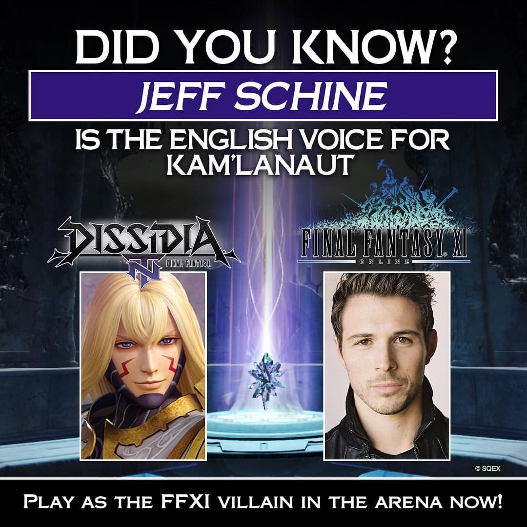 We're excited to have the amazing @jeffschine voice FINAL