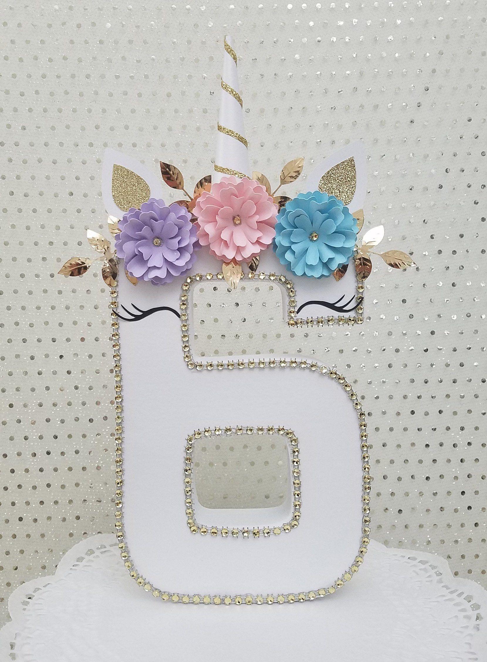 Photo of Unicorn party decorations, Unicorn birthday, Unicorn decorations, Paper flowers, Home decor, bedroom decor, Unicorn photo prop