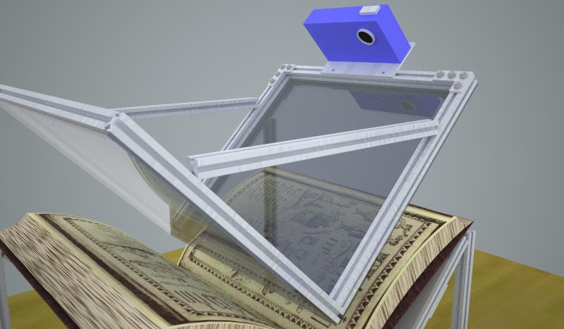 Makerbeam Diy Book Scanner Welding Design Diy Sketchup Model