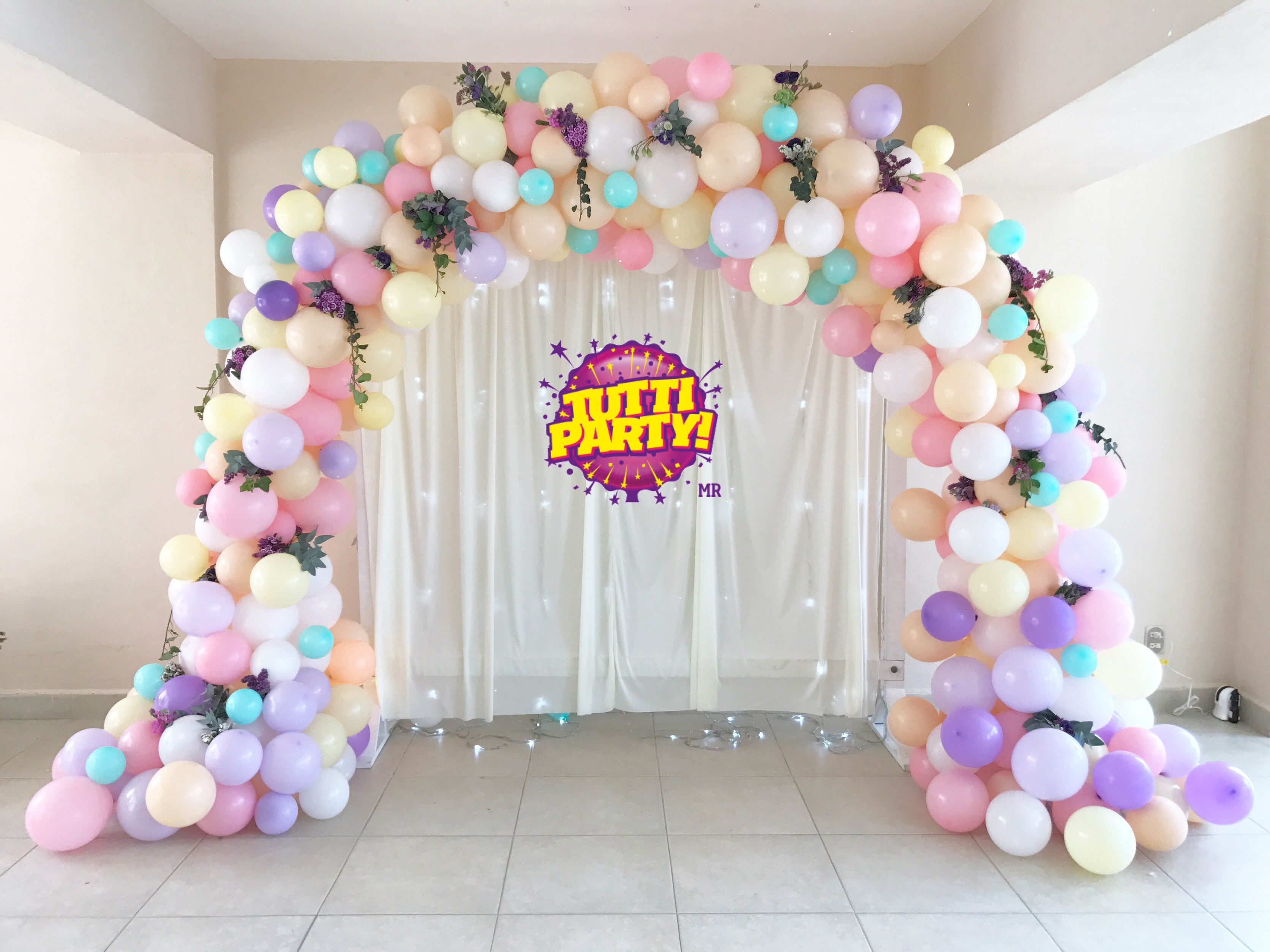 Beautiful balloons arch decorations sweet