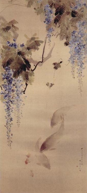 Watanabe Shōtei Wikipedia Gallery In York Peintures Asiatiques